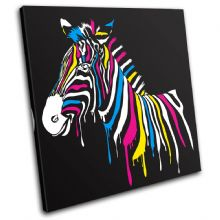 Abstract Zebra Animals - 13-0463(00B)-SG11-LO